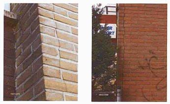 Scheurvorming metselwerk perfectkeur for Behang voor slechte muren