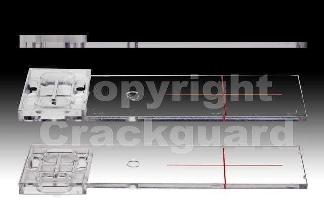 Scheurmeter transparant