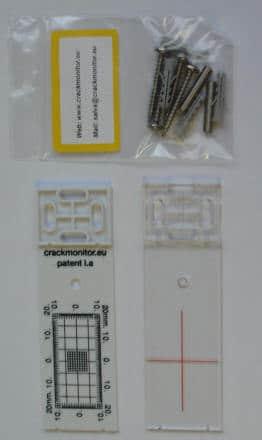 Scheurmeter wit
